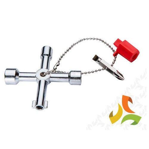 Topex Kluczyk uniwersalny do szafek elektrycznych / gazowych 02-001 neo