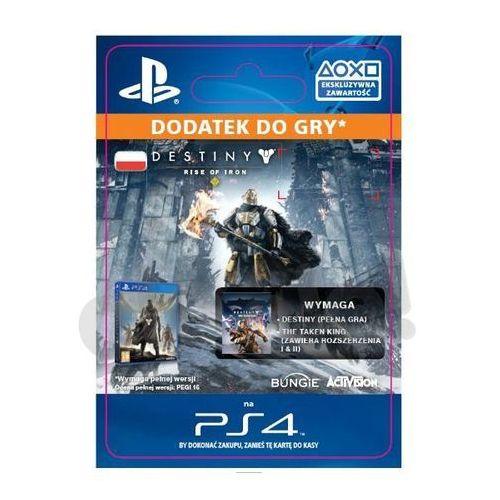 Sony Destiny - rise of iron [kod aktywacyjny] (0000006200042)