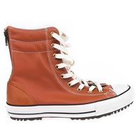 buty CONVERSE - Chuck Taylor All Star Hi-Rise Boot Brown (BROWN) rozmiar: 37.5, kolor brązowy