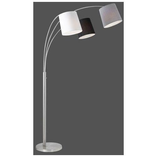 Leuchten direkt Lampa podłogowa melvin, 3-pkt., czarna/szara/biała