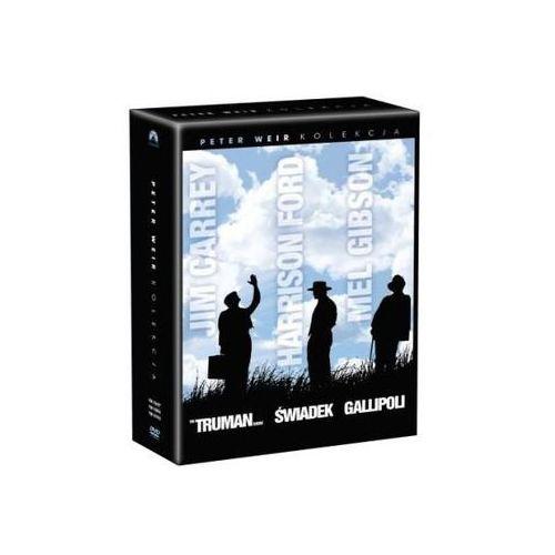 Kolekcja Petera Weira: Truman show, Gallipolli, Świadek (3xDVD) - Peter Weir