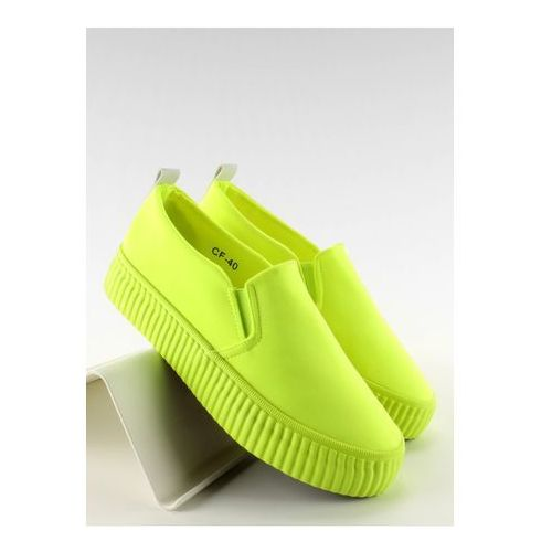 Trampki Slip-on Model GF-40 Yellow