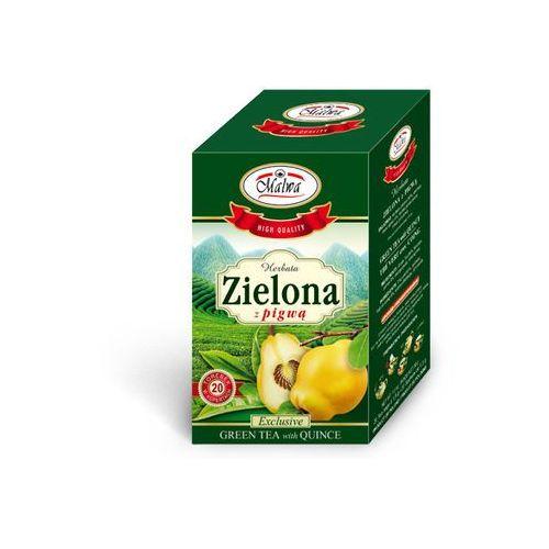 Malwa tea  herbata zielona z owocem pigwy 20 kopert