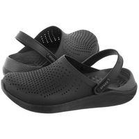 Klapki Crocs Literide Clog Black/Slate Grey 204592-0DD (CR168-a)