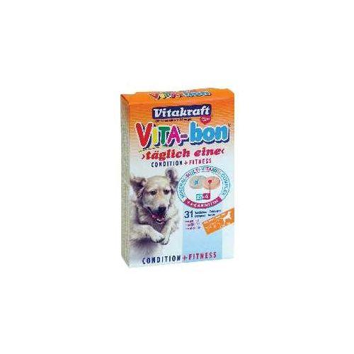 Vitakraft  vita bon - tabletki witaminowe dla dużych psów ( powyżej 20kg) 31tab. (4008239230706)