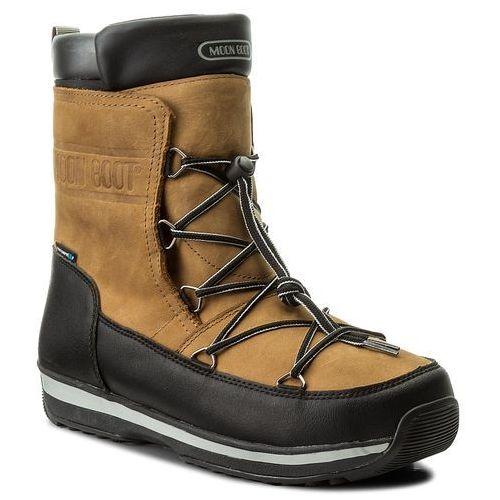 Śniegowce MOON BOOT - Lem Leather Wp 14201100001 Marrone/Nerro, w 3 rozmiarach