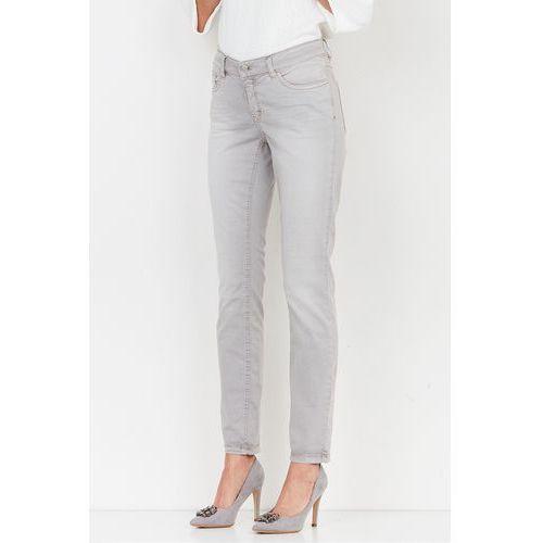 Szare, jeansowe spodnie - marki Patrizia aryton