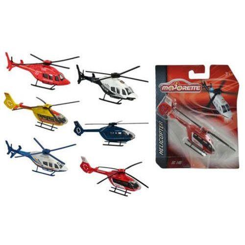 helikoptery, 6 rodzajów marki Majorette