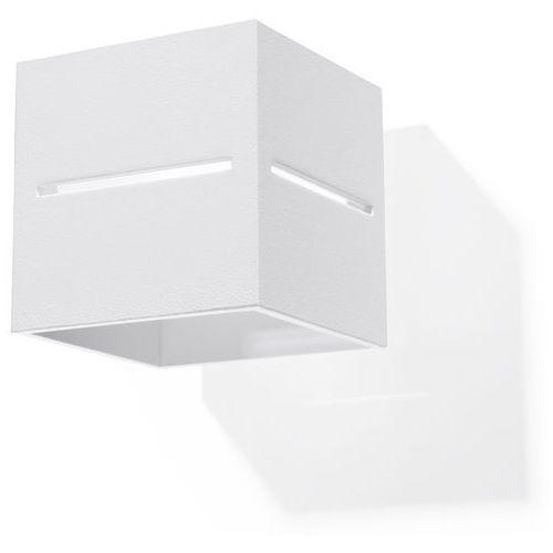 lobo sl.0206 kinkiet lampa ścienna 1x40w g9 biały >>> rabatujemy do 20% każde zamówienie!!! marki Sollux