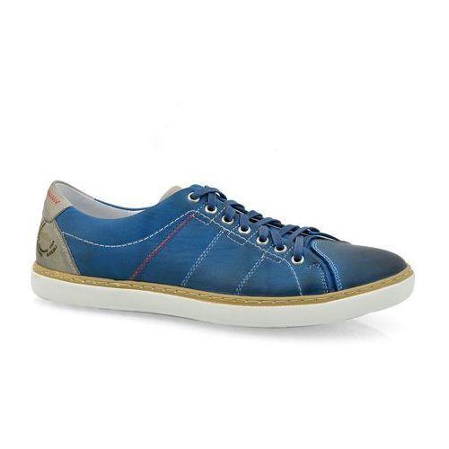 Półbuty NIK 03-0445-002 niebieski, 1 rozmiar