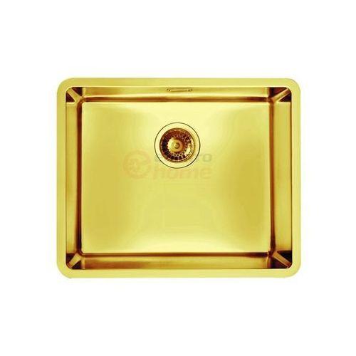 kombino 50 u zlewozmywak stalowy monarch złoto 1120361 - kto pyta płaci mniej i zadzwoń 22 266 82 20 i odbierz w salonie! marki Alveus