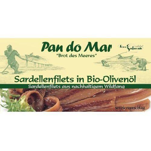 Anchois (sardele) w BIO oliwie z oliwek 6x50g (przetwór rybny)