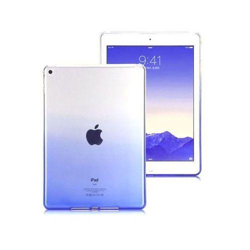 Etui Alogy ombre case Apple iPad Air 2 niebieskie + Szkło 9H - Niebieski