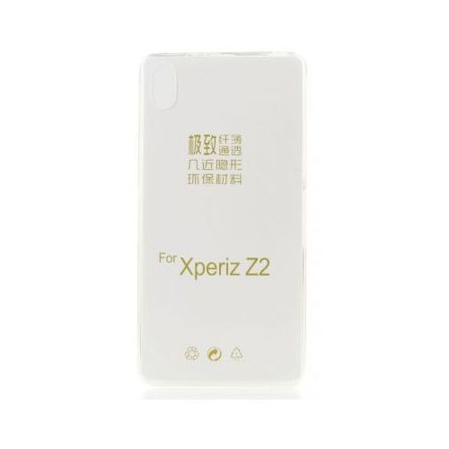 Futerał Back Case 0,3mm - SONY xperia Z2 d6503 transparentny, backsoz2