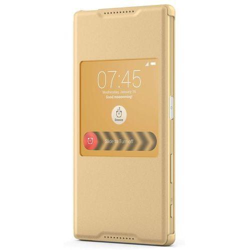 Etui SONY SCR42 do Xperia Z5 Złoty