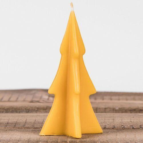 Łysoń Świeca woskowa choinka mała (110 mm / 55 mm) (5903175401045)