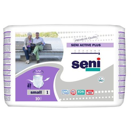 Majtki chłonne seni active plus (1) small 10szt. marki Tzmo s.a.