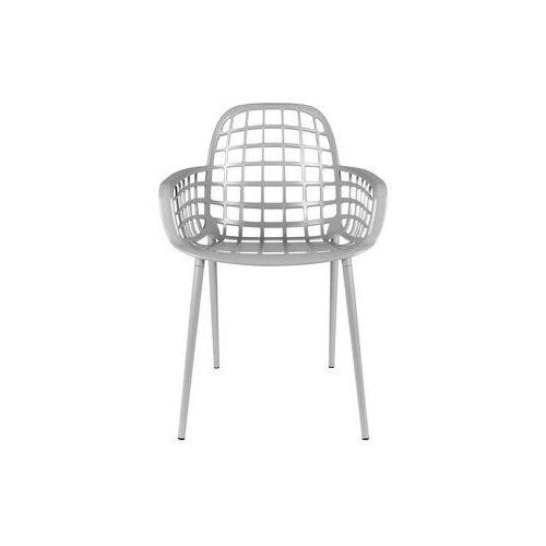 Zuiver krzesło ogrodowe albert kuip szare 1200171