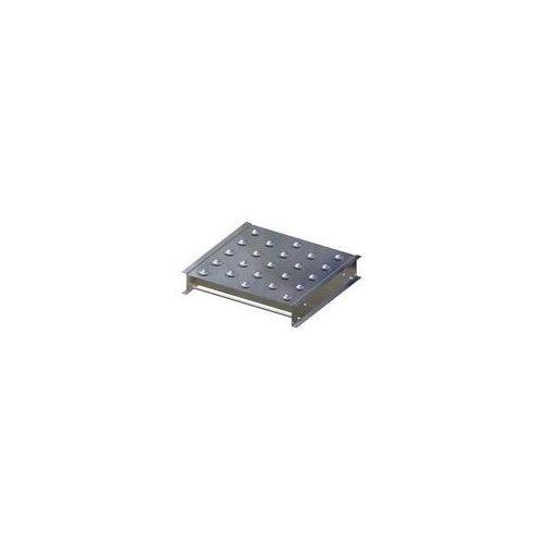 Stół kulowy, wys. konstrukcji 110 mm, szer. przenośnika 500 mm, dł. 500 mm, podz marki Gura fördertechnik