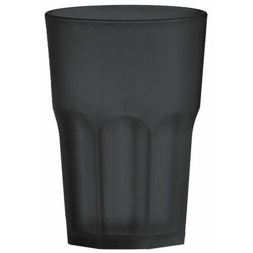 Szklanka z poliwęglanu | czarna | 350ml marki Tom-gast