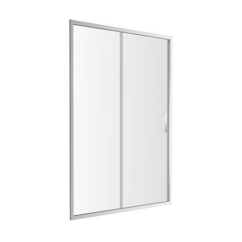 Drzwi prysznicowe przesuwane 140 cm chelsea ndp14x marki Omnires