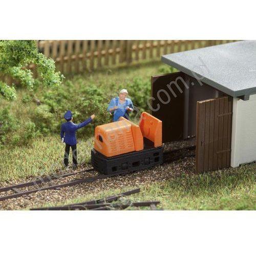 Atrapa lokomotywy do zakładowej kolejki wąskotorowej  43703 marki Auhagen
