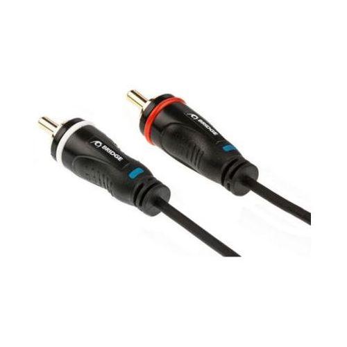PREMIUM kabel Audio 2 x RCA wtyk - 2 x RCA wtyk 2,0m (5907707061080)