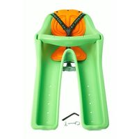 Fotelik rowerowy IBERT Zielony, kolor zielony