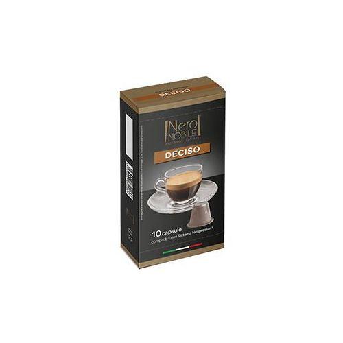 Kapsułki do nespresso* wyrazista/deciso 10 kapsułek - do 12% rabatu przy większych zakupach oraz darmowa dostawa marki Nero nobile
