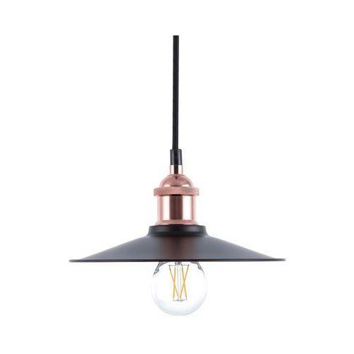 Lampa wisząca czarno-miedziana SWIFT mała 22 cm (4260586355840)