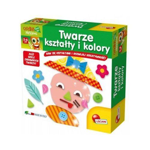 Liscianigiochi Karotka twarze kształty i kolory - darmowa dostawa od 199 zł!!! (8008324055012)
