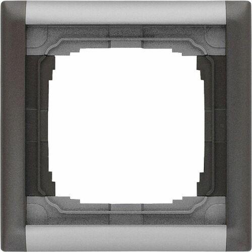 KOS KOS66 PLUS Ramka składana kolorowa x1 możliwość rozbudowy do dowolnej ramki wielokrotnej ALUMINUM + GRAFIT 66406081, 66406081