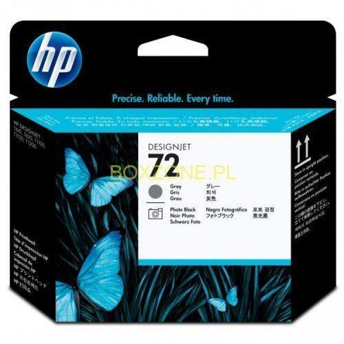 HP oryginalny głowica drukująca C9380A, No.72, grey/black, HP Designjet T1100, T770 - sprawdź w wybranym sklepie
