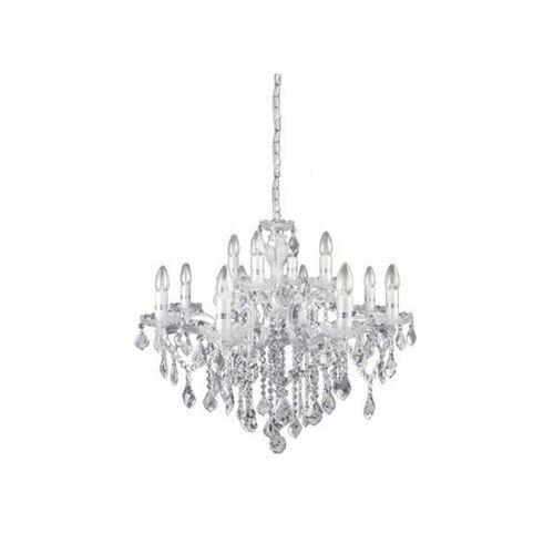 Ideal lux Lampa wisząca florian sp12 cromo
