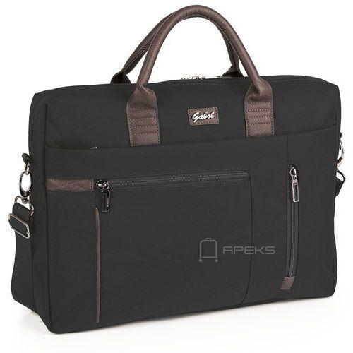 dallas damska torba na laptopa 15,6'' / negro - negro marki Gabol