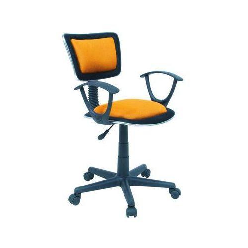 Fotel obrotowy, krzesło biurowe q-140 orange marki Signal