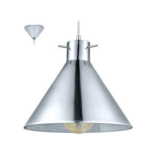 Eglo 49273 - Lampa wisząca VINTAGE 1xE27/60W/230V, kolor Srebrny
