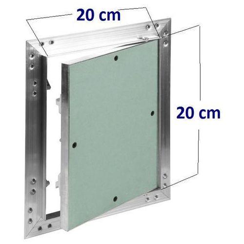 Klapa rewizyjna aluminiowa kral2 - 200x200mm marki Awenta
