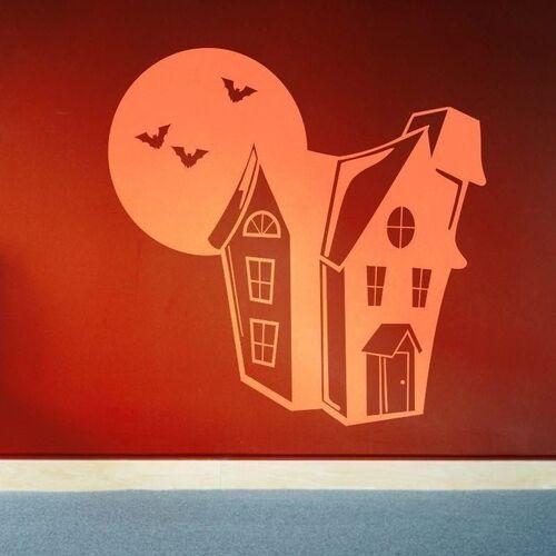 Wally - piękno dekoracji Naklejka domek 1337