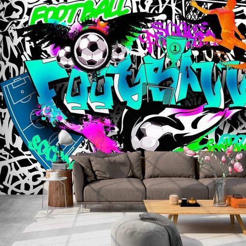Fototapeta - Sportowe graffiti