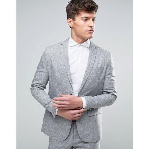 Jack & Jones Premium Slim Suit Jacket in Salt and Pepper - Grey