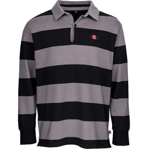 Koszulka - scrum ls rugby top blackcharcoal (black-charcoal) rozmiar: m marki Independent