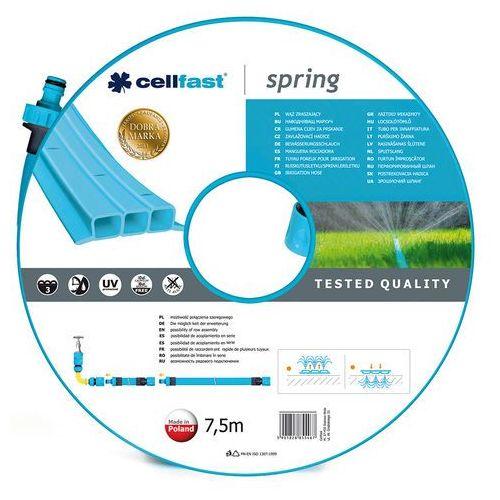 Cellfast wąż zraszający spring 7,5m (19-021) (5901828855467)