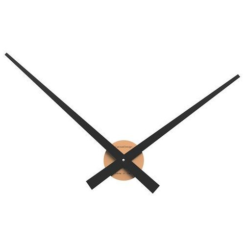 Zegar ścienny Botticelli duży CalleaDesign jasnobrzoskwiniowy (10-313-22)