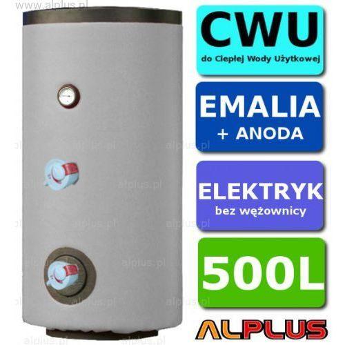 Elektryczny bojler 500L 6kW (2 grzałki po 3kW lub inne do wyboru) EMALIOWANY, Ogrzewacz wody elektryczny pionowy stojący, 500 litrów, 170cm x 75cm, Wysyłka gratis