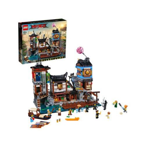OKAZJA - 70657 DOKI W MIEŚCIE NINJAGO® (NINJAGO City Docks) - KLOCKI LEGO EXCLUSIVE