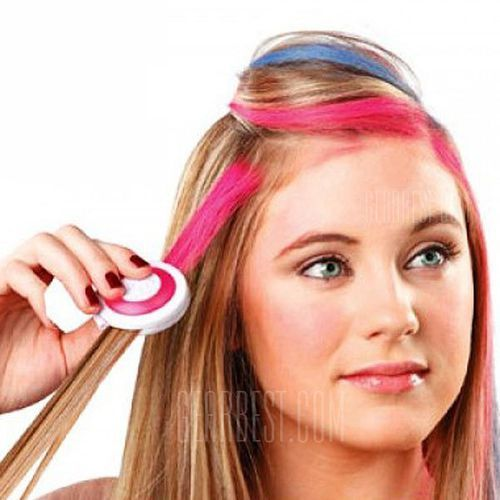 Fashion beauty products 4 colors disposable hair chalk od producenta Gearbest