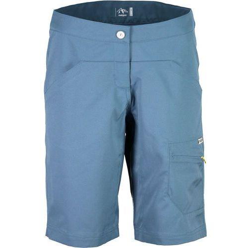 flurinam. spodnie rowerowe kobiety niebieski xl 2018 spodenki rowerowe marki Maloja