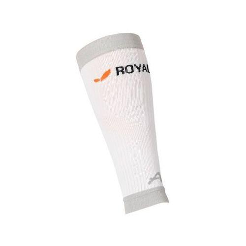 Royal Bay Classic - opaski kompresyjne na łydki (biały)
