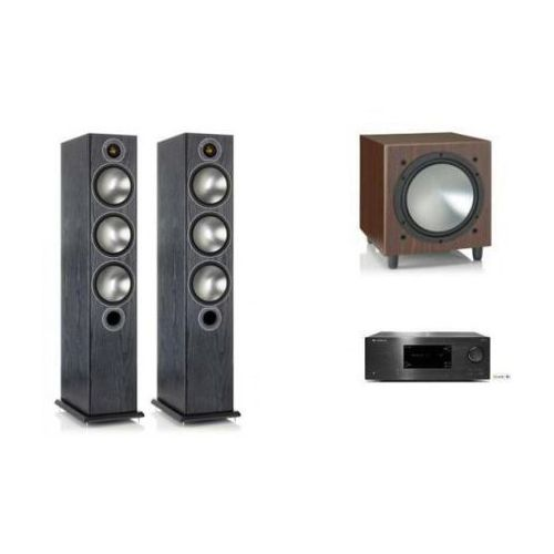 Zestawy Cambridge audio cxr120 + monitor audio bronze6 + w10